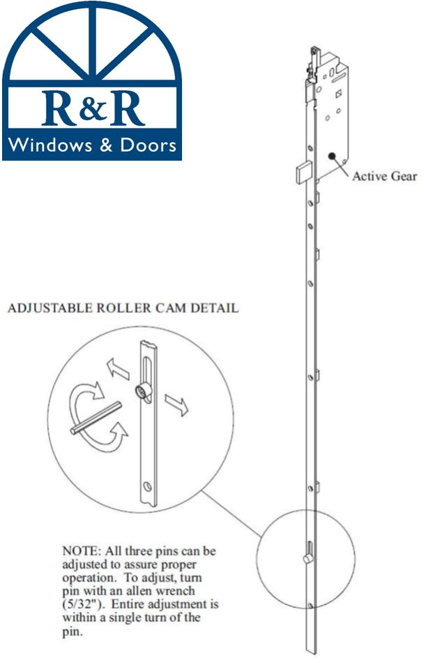 Pocket door adjustment
