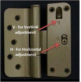 815-Adjustment & 815 / 816 Door Hinge Adjustment Instructions | Hurd Window ...
